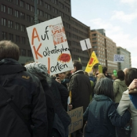 Anti Atom Demo Berlin