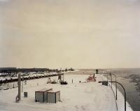 Hafen am Eidersperrwerk